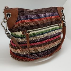 The Sak Brown and Multicolor Shoulder Bag